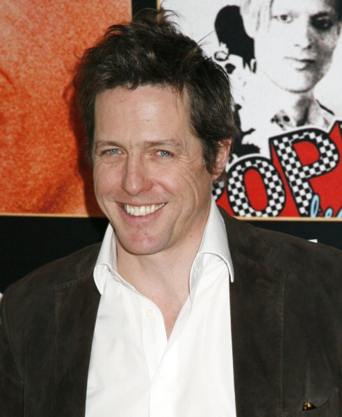 Hugh Grant arrives at the Ritz Hotel to promote his film Music and Lyrics (Le Come-Back) in Paris, France on March 1, 2007. (UPI Photo/David Silpa)