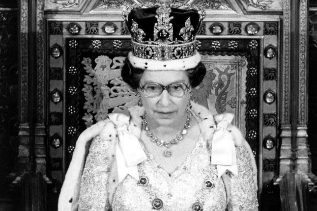 On Feb. 6, 1952, Princess Elizabeth became sovereign of Great Britain upon the death of her father, King George VI. She was crowned Queen Elizabeth II on June 2, 1953. UPI File Photo