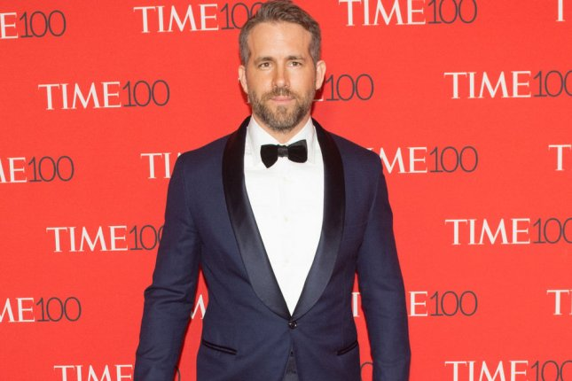 Ryan Reynolds arrives on the red carpet at the TIME 100 Gala on April 26. Reynolds posted on social media a number of behind-the-scene photos of Deadpool 2 as the film wrapped production. File Photo by Bryan R. Smith/UPI