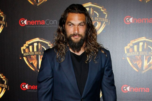 Jason Momoa becomes an NBC page in a new promo for Saturday Night Live. File Photo by James Atoa/UPI