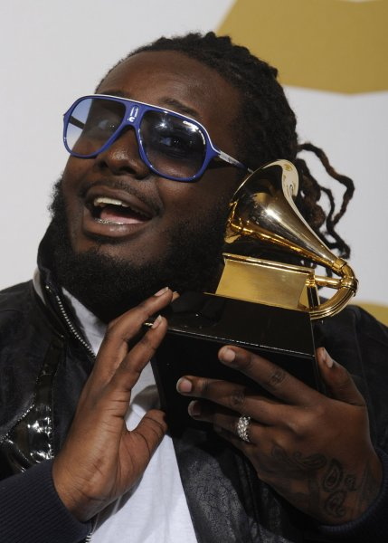 T-Pain will host the iHeartRadio Music Awards on March 14. File Photo by Phil McCarten/UPI