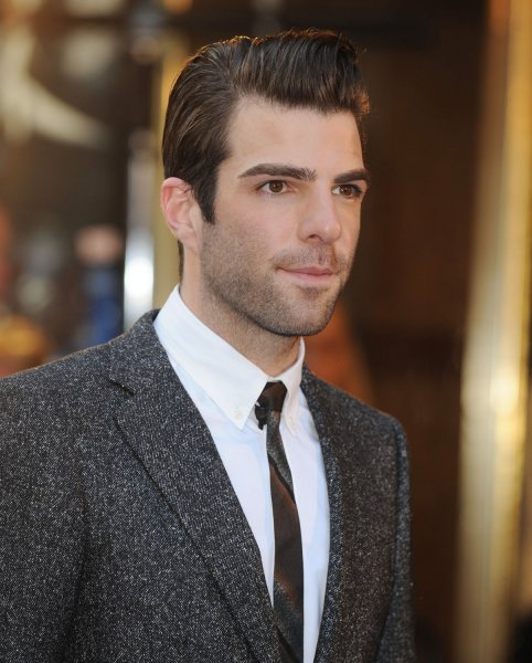 American actor Zachary Quinto attends the premiere of Star Trek at Empire, Leicester Square in London on April 20, 2009. (UPI Photo/Rune Hellestad)