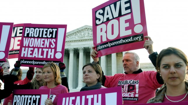 Pro-Choice demonstrators rally in front of the Supreme Court. (File/UPI Photo/Kevin Dietsch)