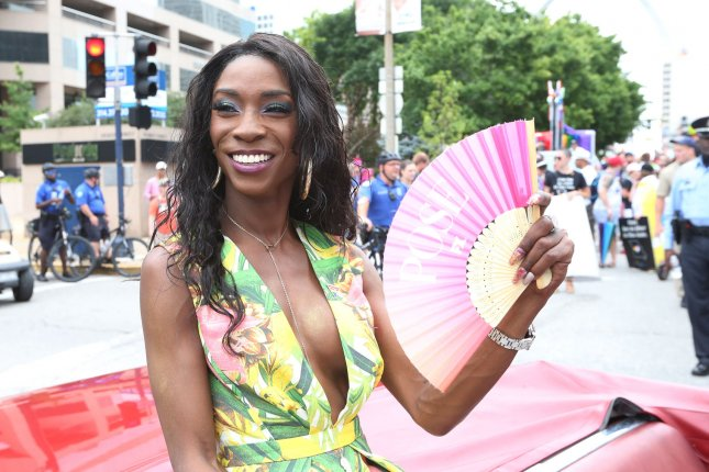 Angelica Ross is so grateful & excited to star in American Horror Story: 1984. File Photo by Bill Greenblatt/UPI