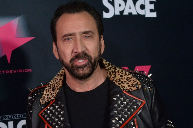 Nicolas Cage's The Croods: A New Age is the No. 1 movie in North America this weekend. File Photo by Jim Ruymen/UPI