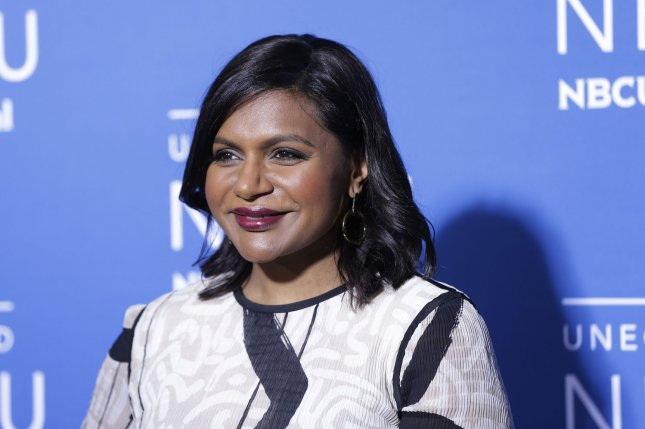 Mindy Kaling is teaming with Hulu on an anthology series inspired by Four Weddings and a Funeral. File Photo by John Angelillo/UPI