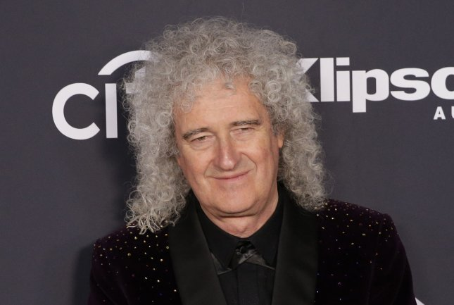 Rocker Brian May, 72, said he is on the mend after battling several health issues this month. File Photo by John Angelillo/UPI