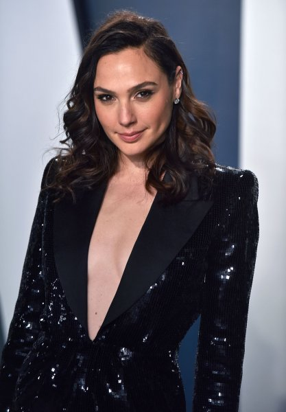 Gal Gadot, seen here atthe 2020 Vanity Fair Oscar party, said she executive-produced IMPACT to inspire women to feel they can make a difference. File Photo by Chris Chew/UPI