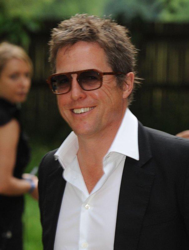 British actor Hugh Grant attends the Raisa Gorbachev Foundation Party at Hampton Court Palace in London on June 5, 2010. UPI/Rune Hellestad