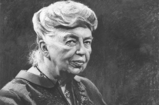 Undated Portrait of an aging Eleanor Roosevelt. (UPI Photo/Files)