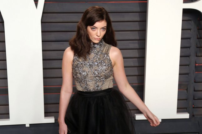 Lorde attends the 2016 Vanity Fair Oscar Party on February 28, 2016. Lorde debuted a new track Homemade Dynamite Sunday during Coachella's first weekend which also featured performances from Kendrick Lamar, Lady Gaga and Radiohead. File Photo by David Silpa/UPI