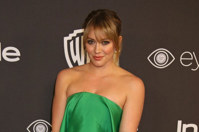 Hilary Duff attends the InStyle and Warner Bros. Golden Globes after-party on January 8. The actress discussed son Luca on Monday's episode of Good Morning America. File Photo by David Silpa/UPI