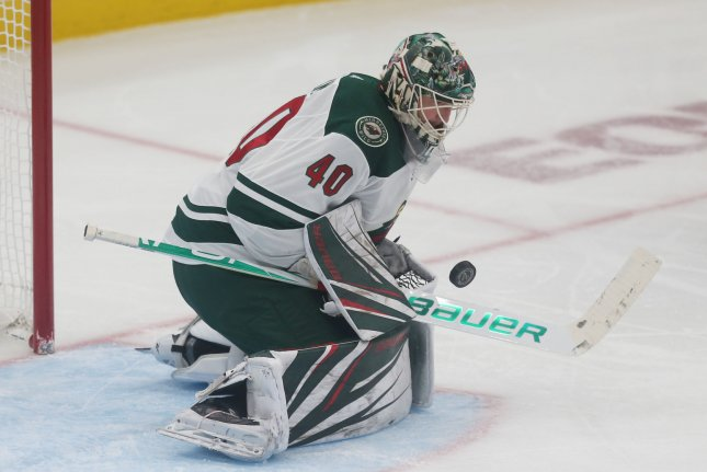 Devan Dubnyk and the Minnesota Wild face the Montreal Canadiens on Tuesday. Photo by Bill Greenblatt/UPI