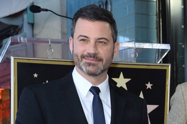 Jimmy Kimmel will present a tribute to the Norman Lear series All in the Family and The Jeffersons in May. File Photo by Jim Ruymen/UPI