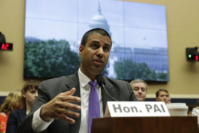 FCC Chairman Ajit Pai said dislike for robocalls unites Americans across the political spectrum. File Photo by Yuri Gripas/UPI