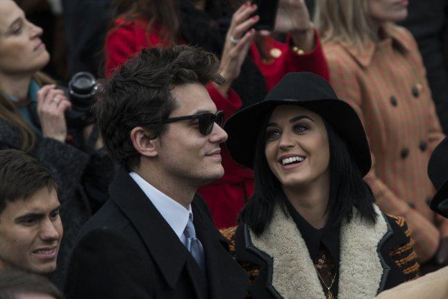 John Mayer and Katy Perry at the U.S. Capitol Building in Washington, D.C. on January 21, 2013. The singer and ex-boyfriend John Mayer were spotted cozying up over the weekend. File photo by Mannie Garcia/UPI