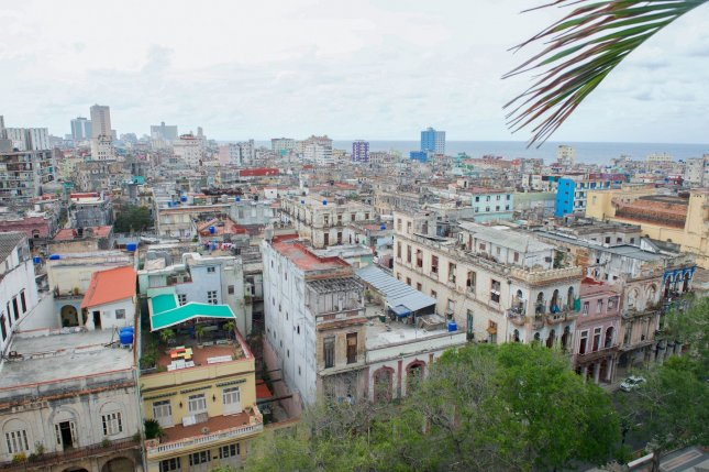 A view from the roof of the Iberostar Parque Central Hotel in Havana, Cuba, on March 22, 2016. JetBlue on Wednesday, August 31, 2016, hosted the first commercial flight from the United States to Cuba after the normalization of once-frozen relations. Photo by U.S. Department of State/UPI