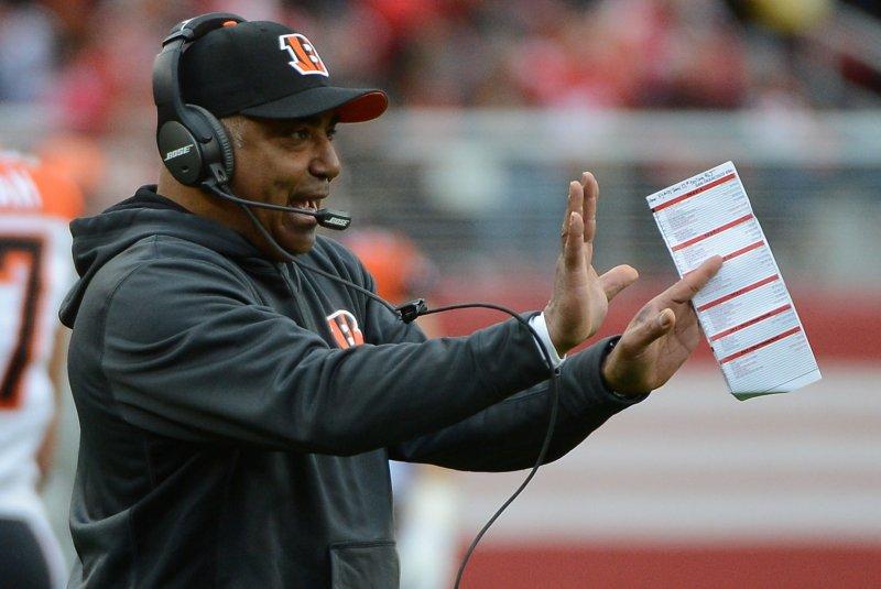 Cincinnati Bengals coach Marvin Lewis. File photo by Terry Schmitt/UPI