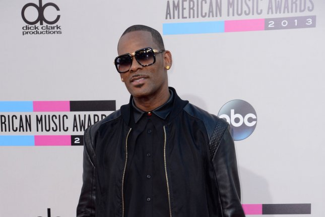 Recording artist R. Kelly, shown here in 2013, has been charged with aggravated sex abuse in Cook County, Ill. File Photo UPI/Phil McCarten