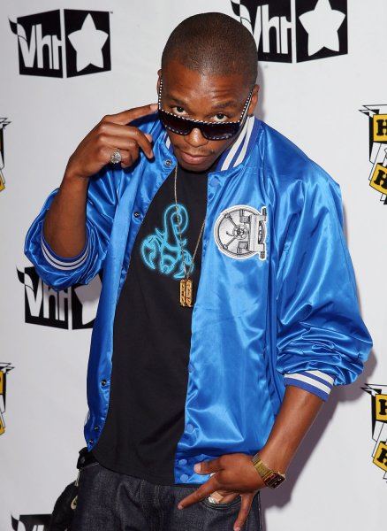 Lupe Fiasco arrives on the red carpet before the taping of the VH1 Hip Hop Honors at the Hammerstein Ballroom in New York City on October 4, 2007. (UPI Photo/John Angelillo) .