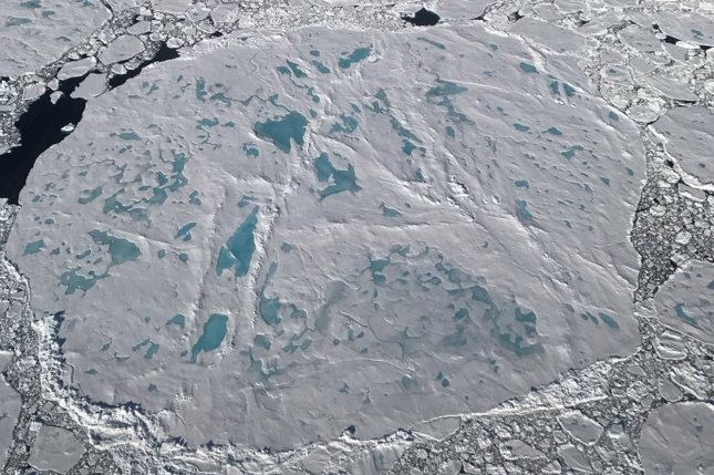 Bacteria living in the Arctic could yield cold-activated detergents and other promising products. NASA Photo by Nathan Kurtz/UPI