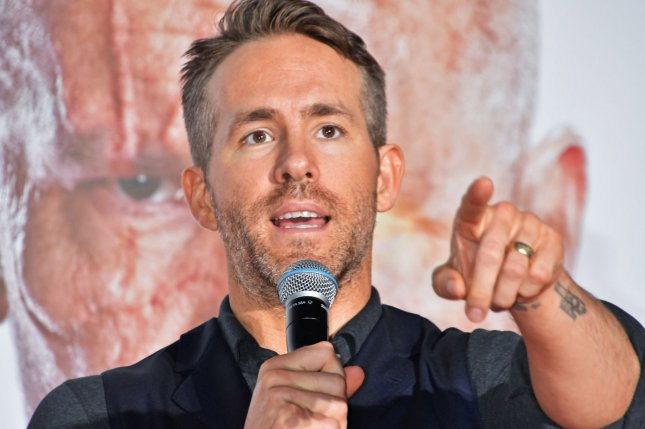 Actor Ryan Reynolds is signed on to star in 20th Century Fox sci-fi comedy Free Guy, directed by Shawn Levy. File Photo by Keizo Mori/UPI