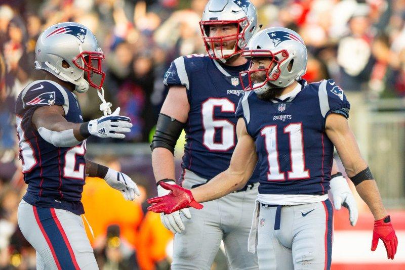 new concept ff0d4 f1481 Patriots WR Julian Edelman fined $63.5K by NFL - UPI.com