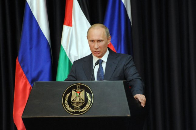 Russian President Vladimir Putin has accepted an invitation from France to attend ceremonies in Normandy honoring the D-Day invasion of WWII. UPI/Debbie Hill