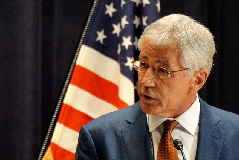 U.S. Secretary of Defense Chuck Hagel on April 6, 2014. (UPI/Keizo Mori)