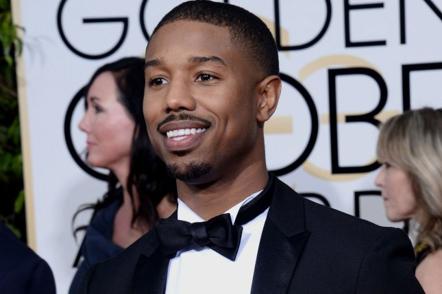 Actor Michael B. Jordan attends the 73rd annual Golden Globe Awards at the Beverly Hilton Hotel in Beverly Hills, California, on January 10, 2016. File Photo by Jim Ruymen/UP