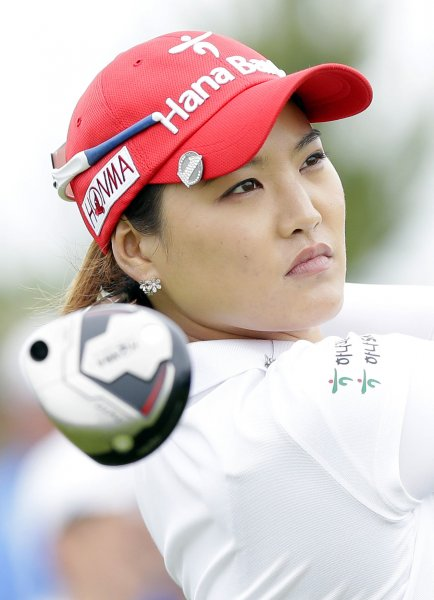 So Yeon Ryu shot a tournament-record 10-under-par 61 Walmart NW Arkansas Championship in Rogers, Ark., on Saturday. UPI/John Angelillo