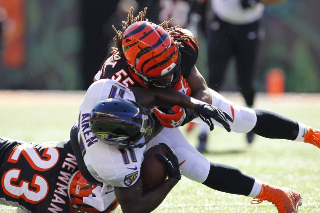Bengals' Vontaze Burfict reportedly facing four-game suspension for PED violation