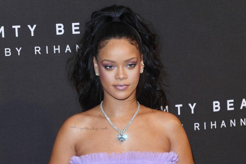 Rihanna attends the Fenty Beauty launch in London on September 19, 2017. File Photo by Rune Hellestad/UPI