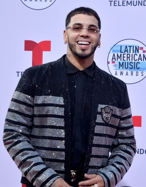 Rapper Anuel AA was named Artist of the Year at the 2019 Latin American Music Awards. Photo by Jim Ruymen/UPI