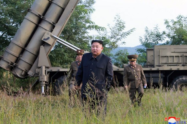 North Korea may not be preparing for a military provocation after the first U.S.-South Korea summit in May, according to Seoul's defense ministry Wednesday. File Photo by KCNA/UPI