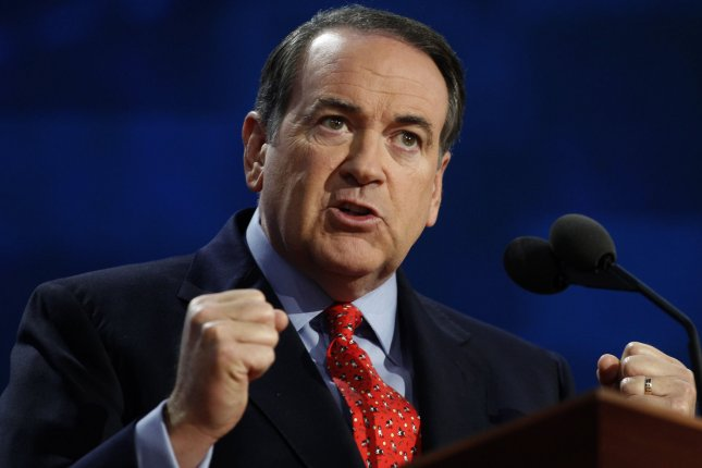 Former Arkansas Gov. Mike Huckabee is jumping into the race for president. File Photo by Matthew Healey/UPI