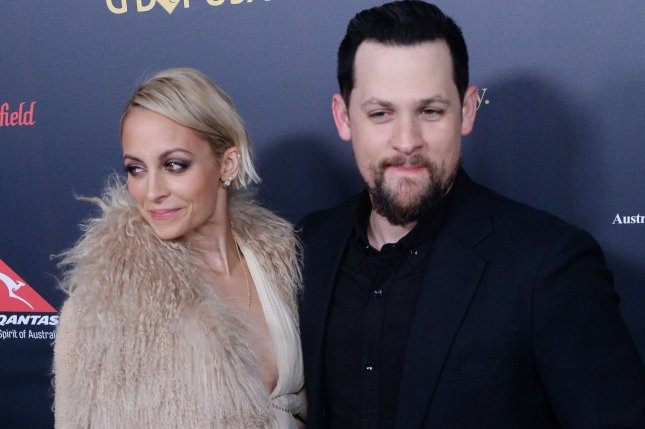 Nicole Richie (L) and Joel Madden at the G'Day USA gala on January 28. File Photo by Jim Ruymen/UPI