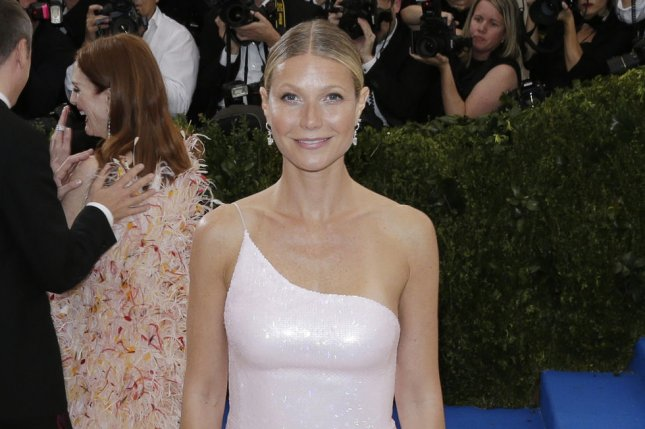 Gwyneth Paltrow attends the Costume Institute Benefit at the Metropolitan Museum of Art on May 1. The actress plays Pepper Potts in the Marvel Cinematic Universe. File Photo by John Angelillo/UPI