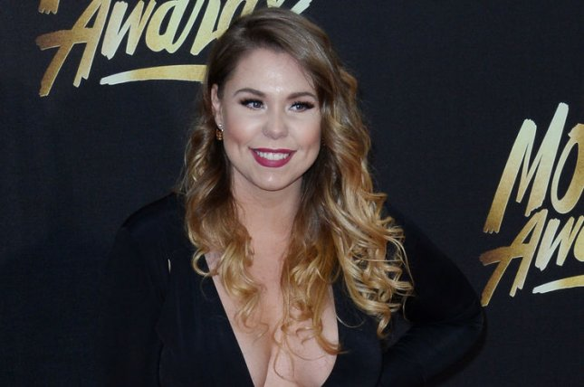 Kailyn Lowry attends the MTV Movie Awards on April 9, 2016. The reality star posted a picture of sons Isaac, Lincoln and Baby Lo on Isaac's first day of school Tuesday. File Photo by Jim Ruymen/UPI