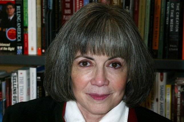 Anne Rice has licensed 18 of her vampire and witch novels to AMC. File Photo by Laura Cavanaugh/UPI