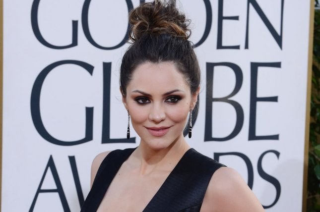 Katharine McPhee arrives for the 70th annual Golden Globe Awards held at the Beverly Hilton Hotel in Beverly Hills, California on on January 13, 2013. UPI/Jim Ruymen