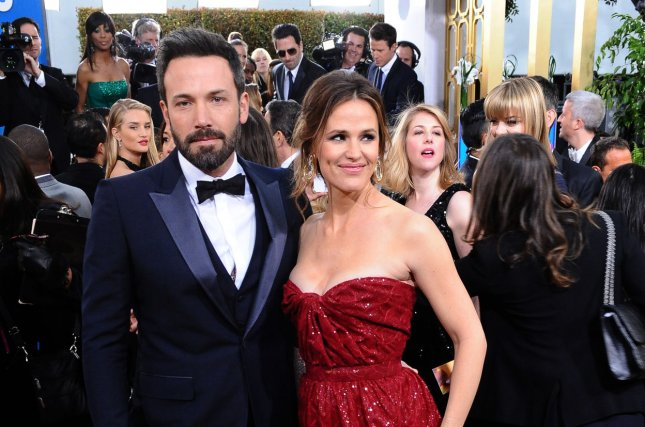 Actor and director Ben Affleck and his wife, actress Jennifer Garner arrive for the 70th annual Golden Globe Awards held at the Beverly Hilton Hotel in Beverly Hills, California on on January 13, 2013. The couple announced their divorce in June. They have three children together. Photo by Jim Ruymen/UPI