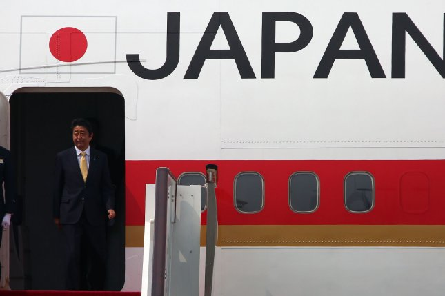 Japan's defense budget has increased annually since Japanese Prime Minister Shinzo Abe assumed office in December 2012, and Tokyo is planning more purchases of missile defense systems for 2017. Photo by Stephen Shaver /UPI