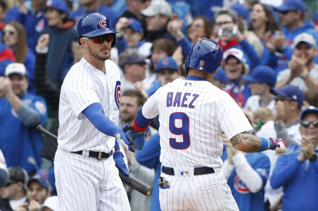 Schwarber, Cubs rally past Brewers to snap 4-game skid
