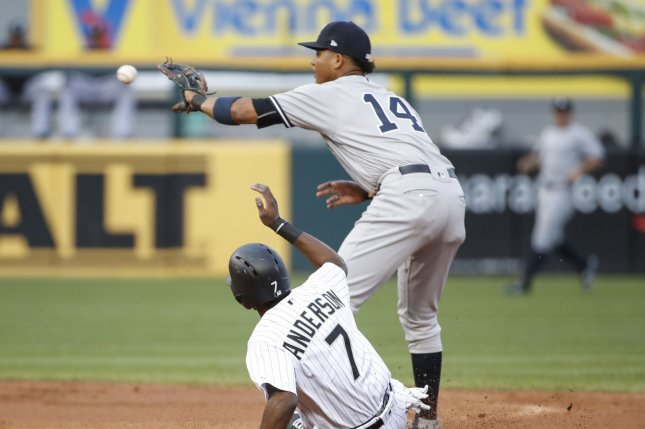 Yanks place Starlin Castro on DL, recall prospect Tyler Wade
