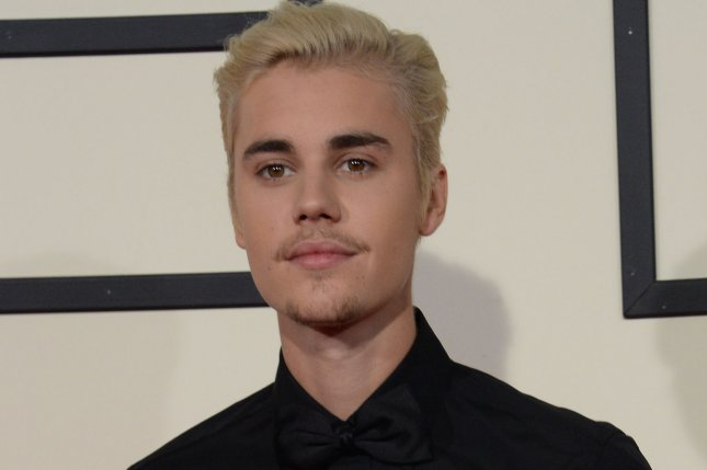 Justin Bieber arrives for the 58th annual Grammy Awards on February 15, 2016. Bieber's new track Friends arrives on Thursday. File Photo by Jim Ruymen/UPI