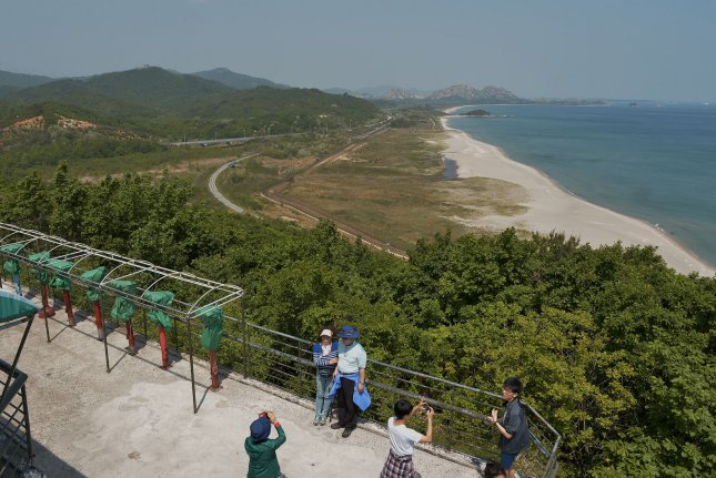 South Korean activists said Monday tourism to North Korea's Mount Kumgang must resume without conditions. File Photo by Keizo Mori/UPI