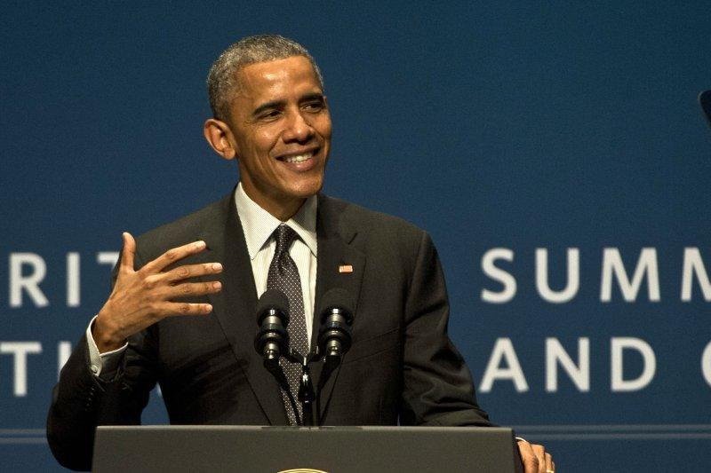 President Barack Obama spoke of cyberterrorism in a Palo Alto, Calif., address last week. Photo by Terry Schmitt/UPI