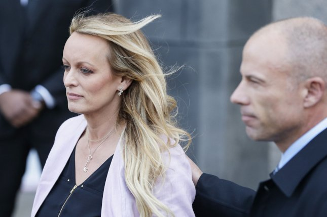 U.S. District Judge S. James Otero ruled to dismiss Stormy Daniels' defamation lawsuit against President Donald Trump on Monday, stating the tweet at the center of the lawsuit was rhetorical hyperbole. Photo by John Angelillo/UPI