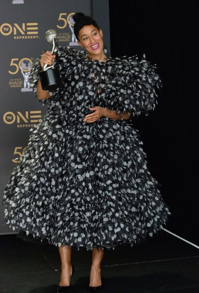 Actress Tracee Ellis Ross is to lend her voice to the title character in the animated series, Jodie. File Photo by Jim Ruymen/UPI
